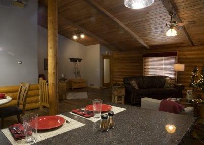 Elk Lodge kitchen Island