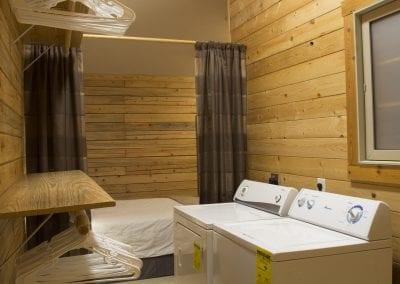 Elk Lodge walk-in closet with Washer & Dryer