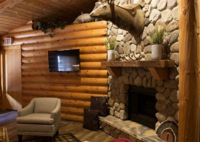 Elk Lodge Fireplace